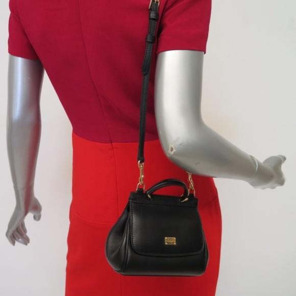 Dolce   Gabbana Handbags - Dolce   Gabbana Miss Sicily Mini Crossbody Bag b0c1015a938f1